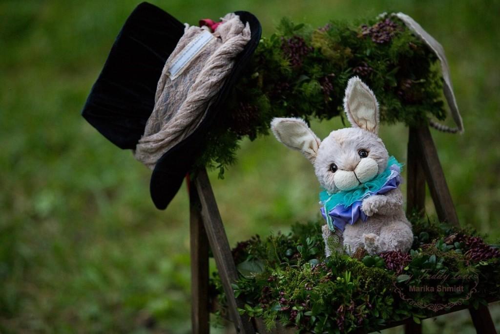 Кролик Мартин Тедди. Автор: Марика Шмидт.