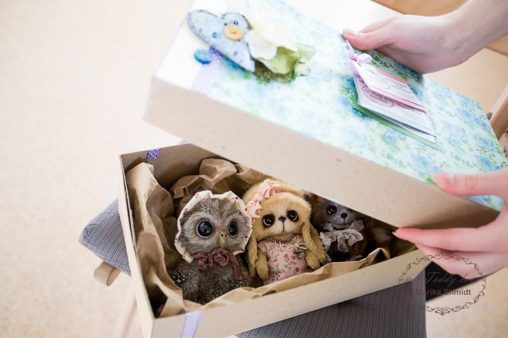 Упаковка Тедди от Марики Шмидт