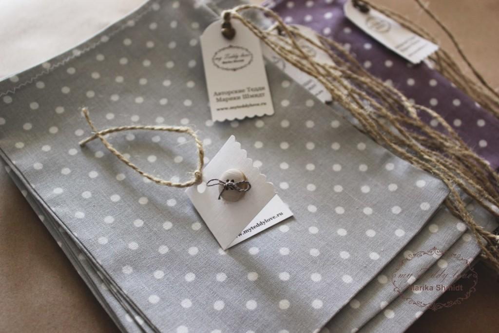 Подарочные пакетики для Тедди от Марики Шмидт