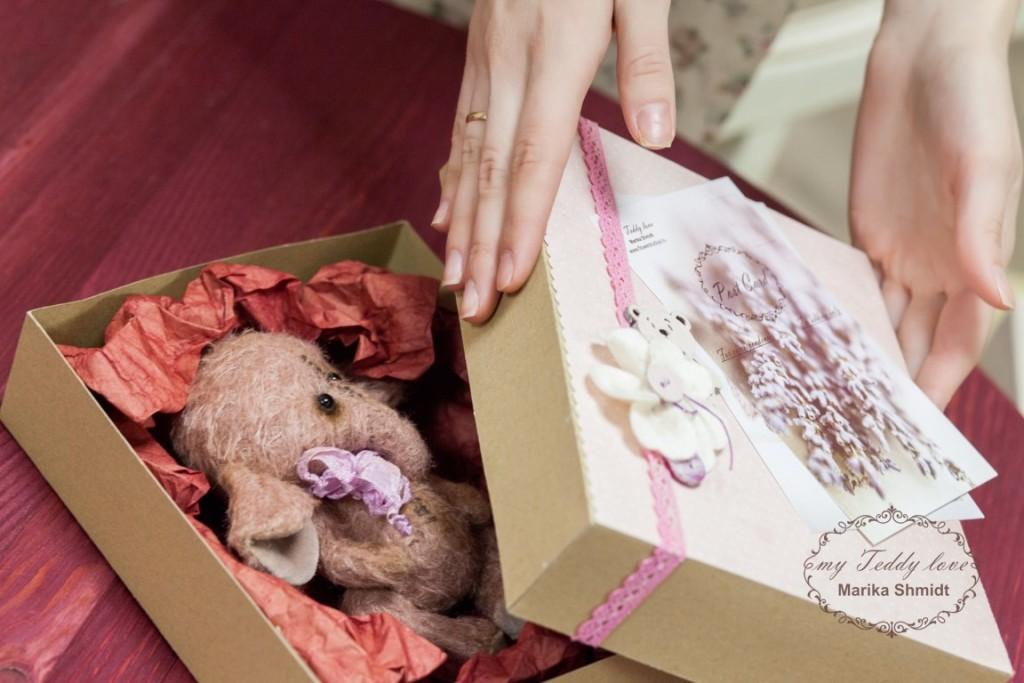 Подарочная упаковка для Тедди от Марики Шмидт