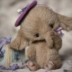 Слоненок Тедди Лаванда от Марики Шмидт