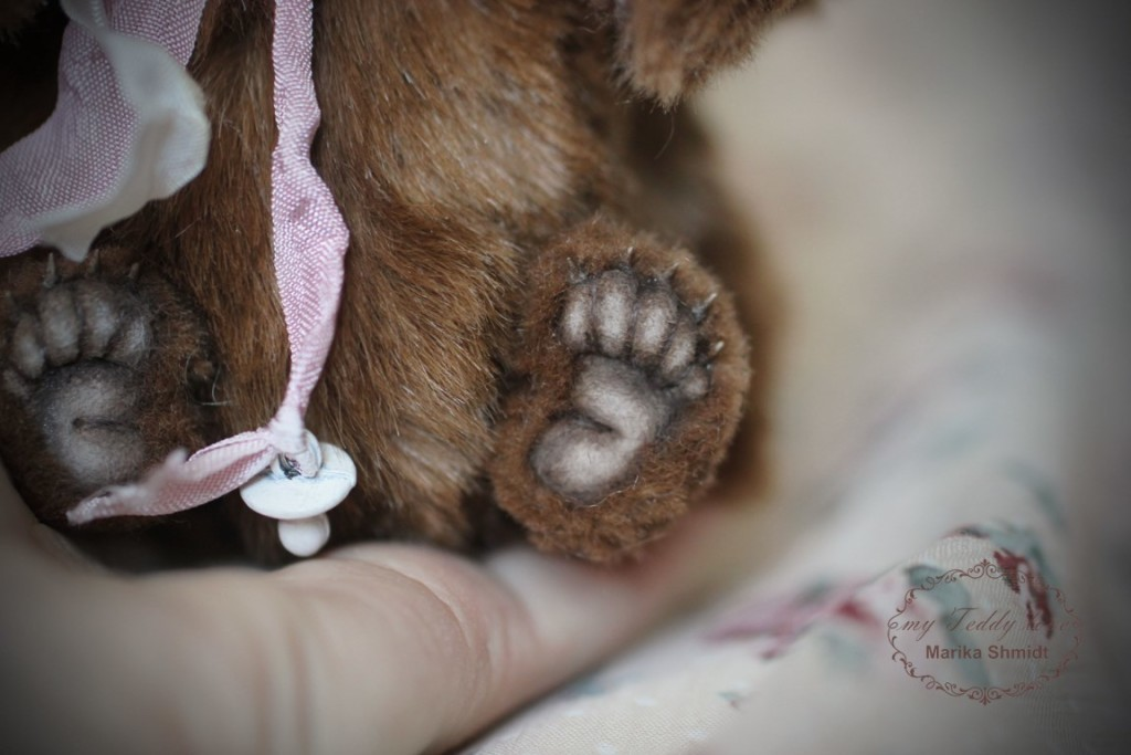 Лапка мишки Тедди от Марики Шмидт