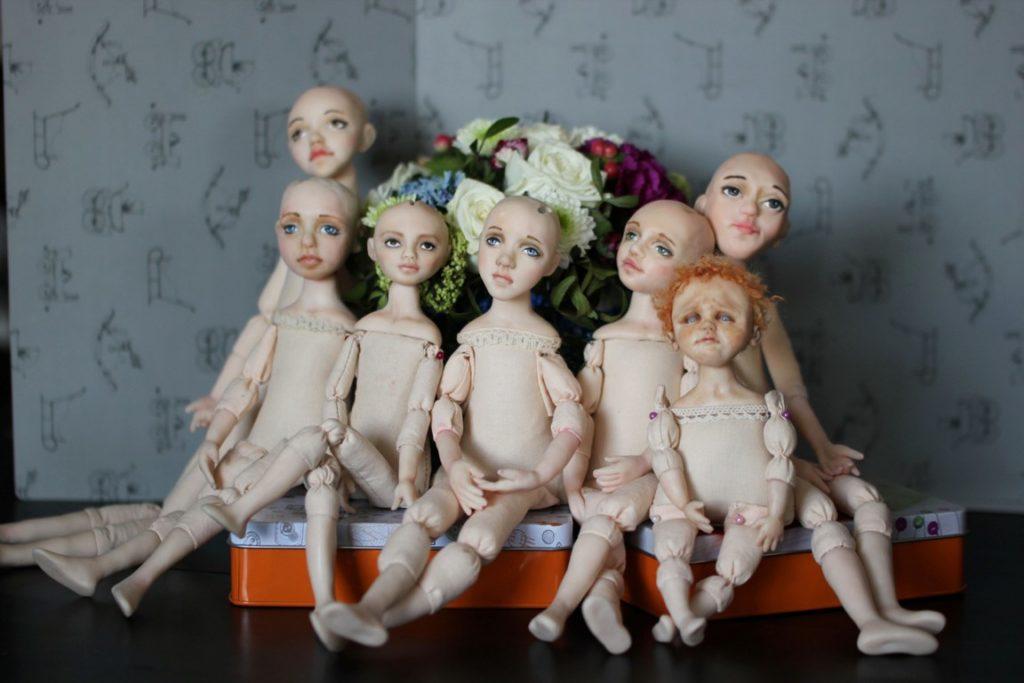 Кукла с подвижной головой своими руками