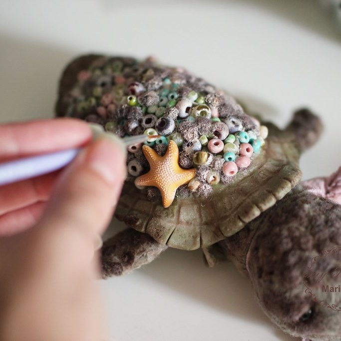 Черепашка Тедди от Марики Шмидт