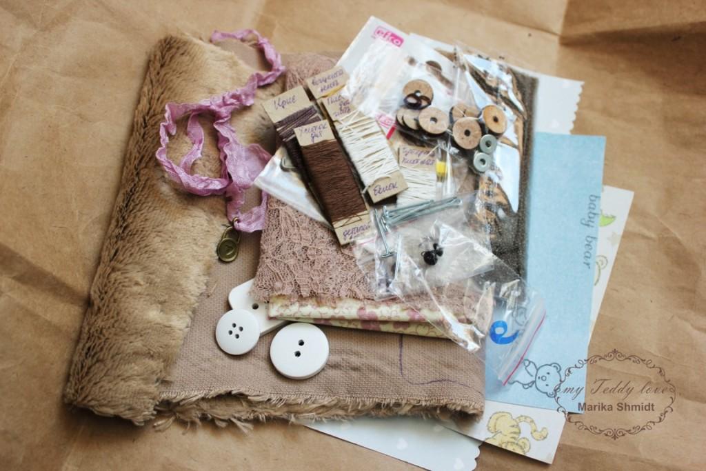 Наборы и выкройки для изготовления мишек тедди и их друзей