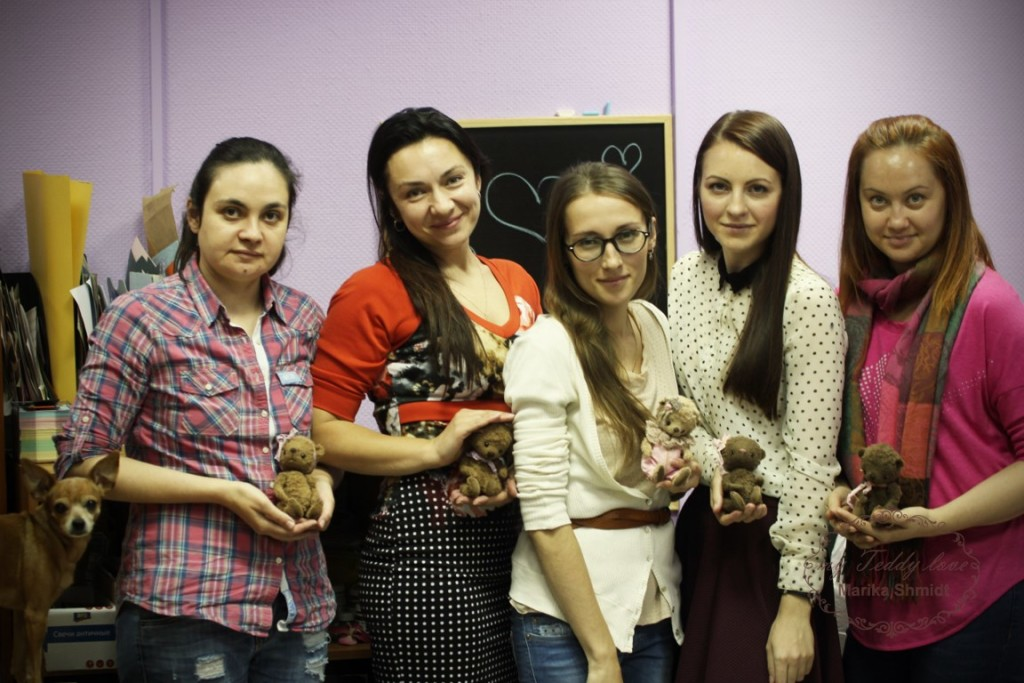 Мастер-класс по мишкам Тедди в г. Барнаул